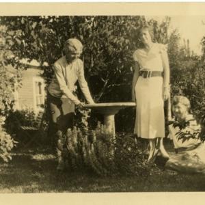 Anna Mayhew Hathaway, Ethel M. Lake, and Elsie Frederick